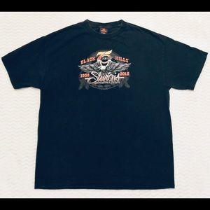 Harley Davidson Sturgis Tshirt 75 yrs Sz XL